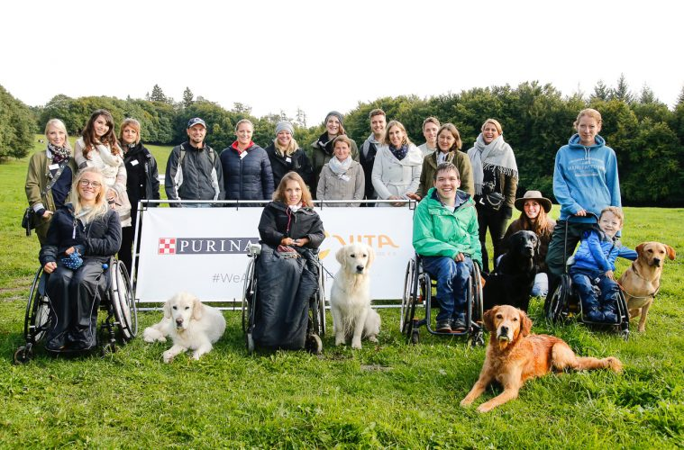 BONN, GERMANY - SEPTEMBER 16: during the Purina and Vita Event on September 16, 2017 in Huemmerich near Bonn, Germany.  (Photo by Isa Foltin/Getty Images for Purina)